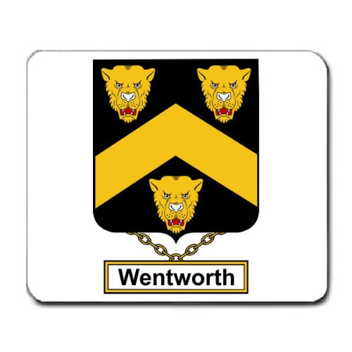 Wentworth Family Crest Coat of Arms Mouse Pad