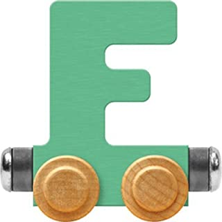 product image for Maple Landmark NameTrain Pastel Letter Car F - Made in USA (Green)