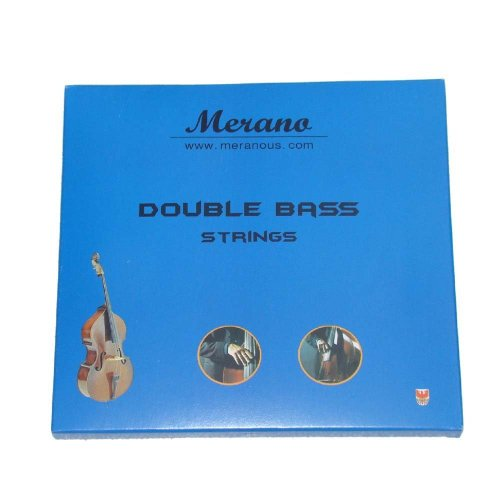 Merano 4/4, 3/4 Upright Double Bass Strings - Buy One Get One FREE ~ Beginner, Student, Replacement ~ (Bass Buys)