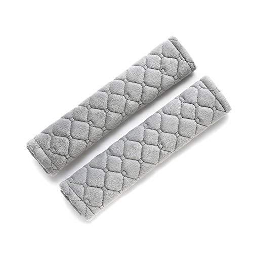 (Car Seat Strap Covers Soft Seat Stroller Belt Cushion Newborns and Kids 2 Pack)