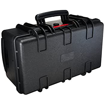 Image of AmazonBasics Large Hard Rolling Camera Case - 22 x 14 x 9 Inches, Black Camera Cases