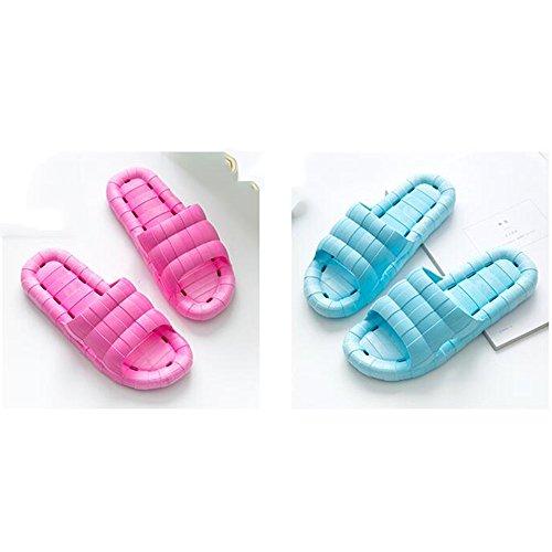 Sandalias opcional Antideslizante Color de Inferior Sandalias Ducha Verano de Parte Suave Zapatillas Femeninas verano Opcional Tamaño Inicio Inicio 02 Baño Baño y Zapatillas Pareja Interior tamaño SdxAwFq