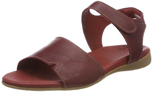 Think! WoMen Jaeh_282557 Sling Back Sandals Red (Rosso/Kombi 72 Rosso/Kombi 72)