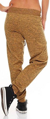 Sbuffo Puntinato Giallo Taglia Yoga Donna Supersoft Pantaloni Pantaloni CamouflageHarem Unica malito Aladin 5381 Baggy Pump morbido tZYOxnq