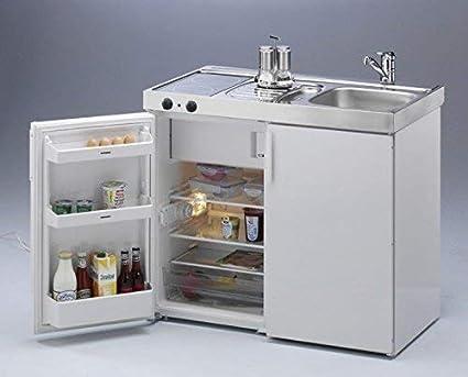 Miniküche Mit Ceranfeld Ohne Kühlschrank : Stengel 2000649 miniküche kitchenline mkc 100 ceran links: amazon.de