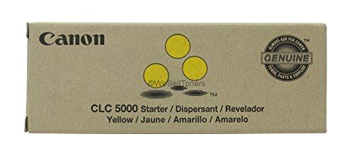 Canon BR CLC5000 Starter 1-Yellow Developer 50k yield (Clc5000 Starter)