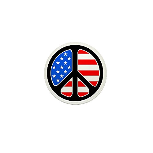 (CafePress American Flag Peace Symbol 1