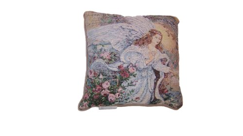 Liu Tapestry Throw (Manual Woodworkers & Weavers Angel of Love Tapestry Pillow)