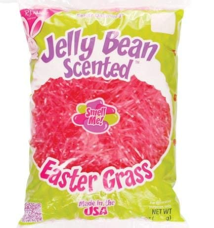Jelly Bean Scented Easter Grass 2 oz (Pink) -
