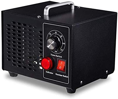 Generador de ozono Purificador de Aire para el hogar Temporizador de ozonizador Limpiador de Aire Máquina de esterilización por desodorización de ozono Fresco de Aire - Negro: Amazon.es: Hogar