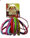 Disney High School Musical 18pc Hair Elastic Bands - HSM Ponytail Bands