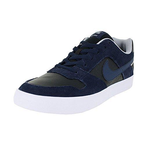NIKE SB Delta Force Vulc Mens Skateboarding-Shoes 942237-440 9 Obsidian/Obsidian-Black-Wolf Grey (Skate Delta)