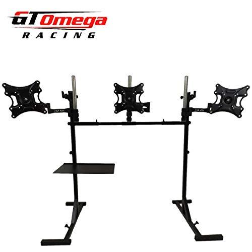 GT OMEGA Triple Monitor Stand V3