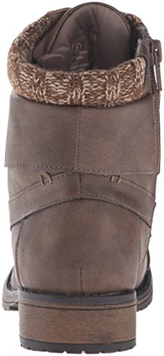 Steve Madden Girls' Jjourdie-K Bootie, Brown, 2 M US Little Kid