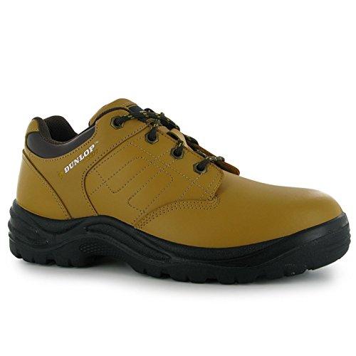 Dunlop Heren Schoenen Kansas Veiligheidsschoenen Honing 9 (43)