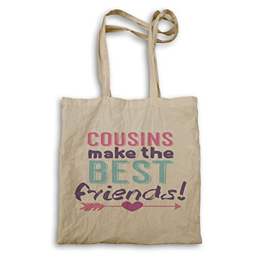 INNOGLEN cousins make the best friends bolso de mano ee254r