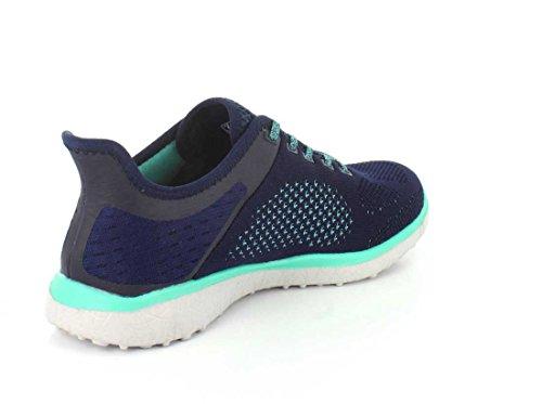 Skechers pink Blue Nvgr Grey Women's Microburst Trainers 23327 001 Mehrfarbig TOgvaT