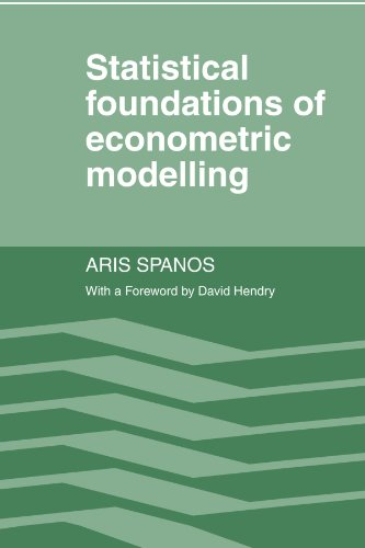 Statistical Foundations of Econometric Modelling