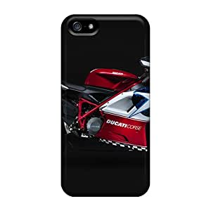 Tpu Case Cover Compatible For Iphone 5/5s/ Hot Case/ Ducati 848 Widescreen