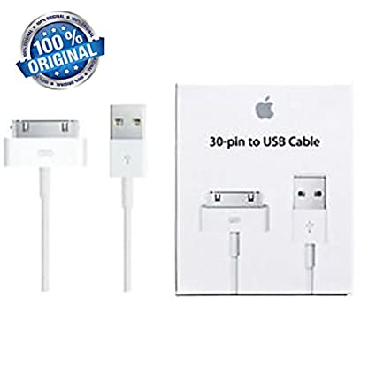 b32c358b6a4 100% Original 30 pin to USB Cable for iPhone: Amazon.in: Electronics