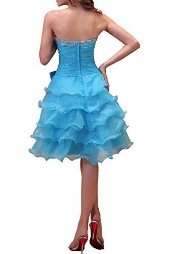 Organza Ivydressing Liebling A Damen Partykleider Tanzenkleider Dunkelgruen Ballkleider Traegerlos Knielang Abendkleider mit Linie Schleife qpwTfqH