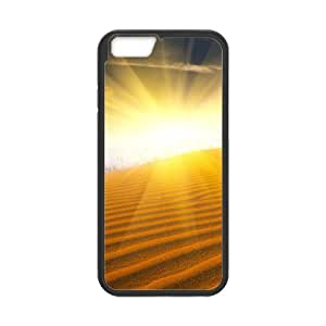 "YCHZH Phone case Of Desert Sunset Cover Case For iPhone 6 Plus (5.5"")"
