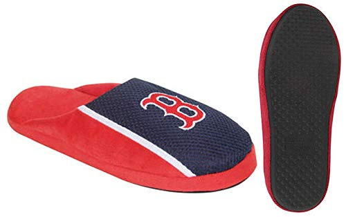 (VF Boston Red Sox MLB Mens Jersey Slide Slipper Adult Sizes (L))
