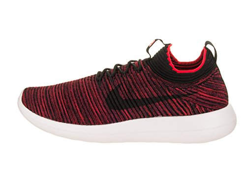 Red Black Men Nike Flyknit White Chile Running Bourdeaux Shoe V2 Roshe Two zd8trq8