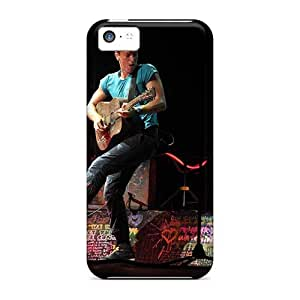 Perfect Hard Phone Covers For Iphone 5c With Customized Realistic Coldplay Band Pictures JonBradica