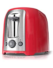 BLACK + DECKER 2 Slice Extra Wide Toaster Red, TR1278TRMC