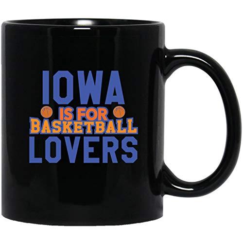 Iowa America Shirt - State Is For Basketball Lovers - Usa Flag Mugs ()