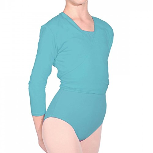V Valley Blue Lycra Roch Ballet R cotone Dance Nikki Aqua cardigan fgqdnwE