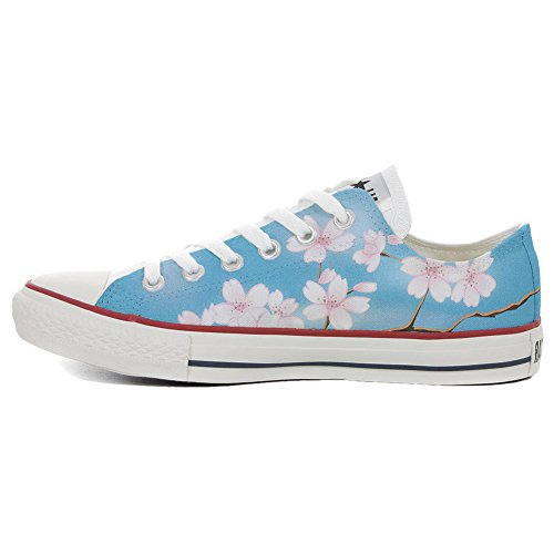 Schuhe Custom Converse All Star, personalisierte Schuhe (Handwerk Produkt customized) Peach