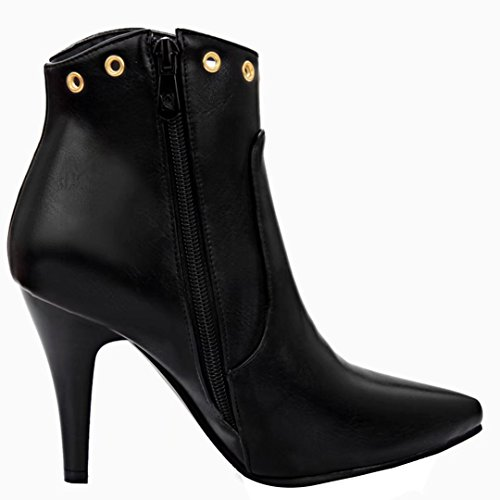 Black Classic Classic Mujeres Boot Boot AIYOUMEI Mujeres AIYOUMEI qwpfB0F