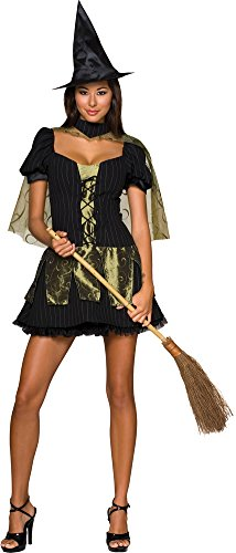 Wicked Witch Secret Wish Xs Adult Womens Costume - Rubies Co. (Secret Wishes Wicked Witch)
