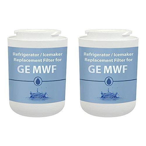 Aqua Fresh Replacement Water Filter for GE GSS25GMHES / GSS25GSHSS Refrigerator Models AquaFresh (2 Pack)