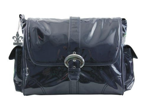 Kalencom Laminated Buckle Bag, Navy Corduroy