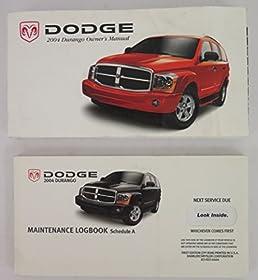 2004 dodge durango owners manual guide book amazon com books rh amazon com Dodge Durango RT 2004 dodge durango owners manual pdf