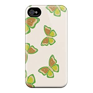 CharlesPoirier Iphone 6 Durable Cell-phone Hard Covers Support Personal Customs Vivid Butterfly Pattern [XSI17233abEI]