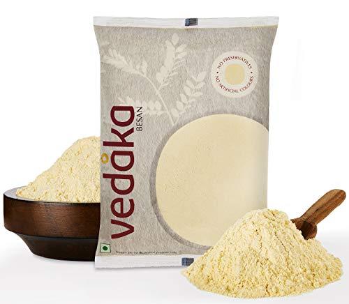 Amazon Brand – Vedaka Gram Flour (100% Chana Besan), 1 kg