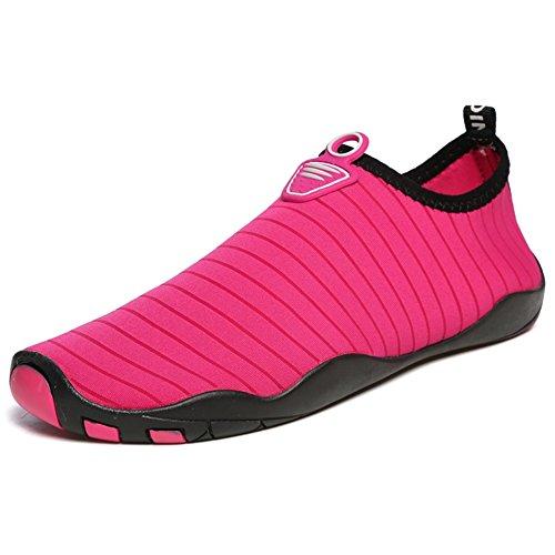 et la la Sport Le la à Adapté Gymnase Unisex Natation la Yoga Rose Plongée Adultes Aquatique de pour Piscine Les Chaussettes xie Tous dans Le Red Plage et HqEwgOvf