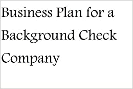 Company background business plan