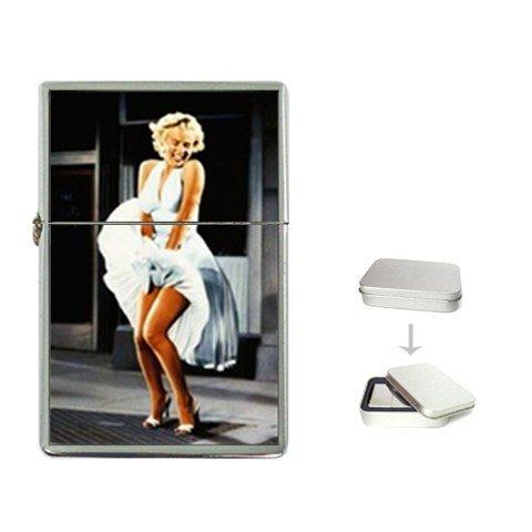 New Order Marilyn Monroe Flip Top Lighter +Free Gift Box + Free ()