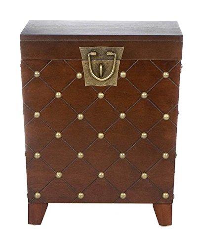037732062259 - Caldwell Trunk End Table Espresso carousel main 5