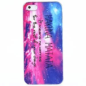 JOE HAKUNA MATATA Star Gaze Hard Back Case Cover for iPhone 5/5S