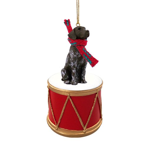 Little Drummer German Shorthaired Pointer Christmas Ornament - Hand Painted - Delightful (Pointer Shorthaired Ornaments)