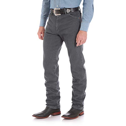 (Wrangler Men's Tall Cowboy Cut Original Fit Western Jean, Gray, 36x38)