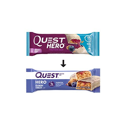 Quest Nutrition Hero Protein Bar Variety Pack (12 Count)