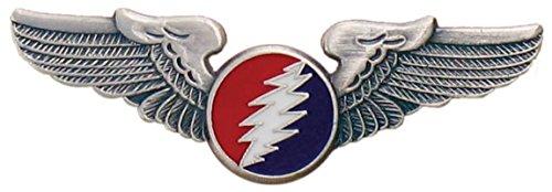 Aviation Pilot Wings (Grateful Dead® Circle Bolt Large Pilot Wing)