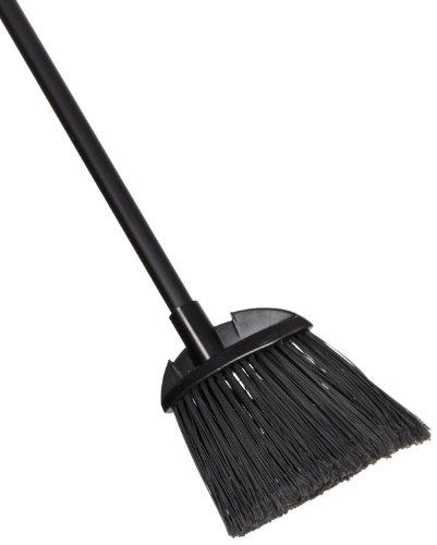 "Rubbermaid Commercial Executive Series Executive Series FG637400BLA Lobby Pro Broom, Polyethylene Bristles, 28"" Vinyl Handle"